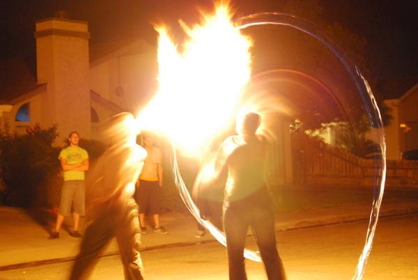 Light my fire ... no really, I forgot my torch.