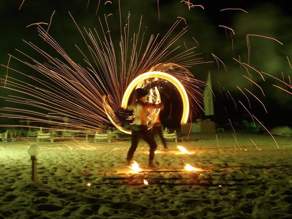 Fire spray