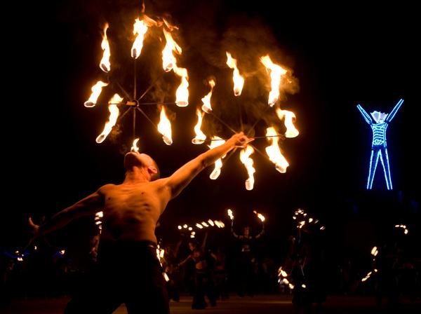 Night of the Burn, Burning Man, Nevada