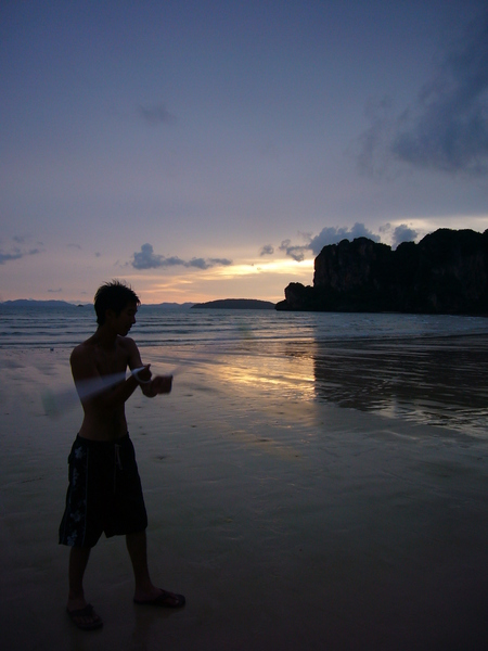 Railay Beach, Krabi province, Thailand