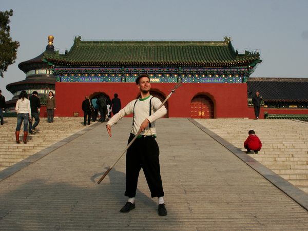 Antti | Art of posing | Temple of Heaven Park, Beijing, China