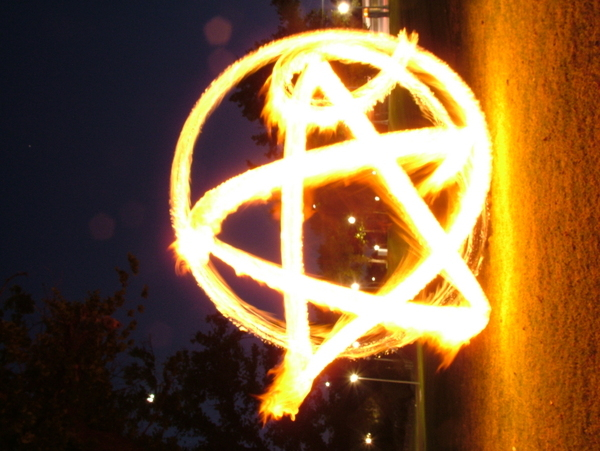 Not a flower a pentagram