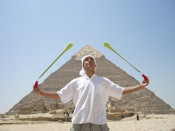 Pyramid Poi, Egypt uploaded by Mr_Jedly