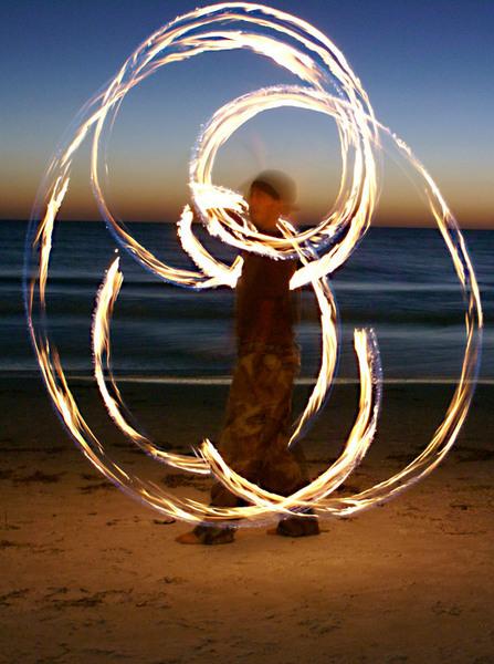 Spirals at dusk