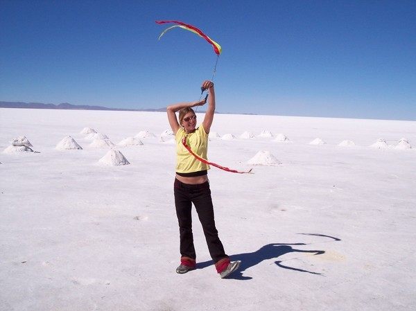Sun & Salt in Uyuni-Bolivia uploaded by vallub