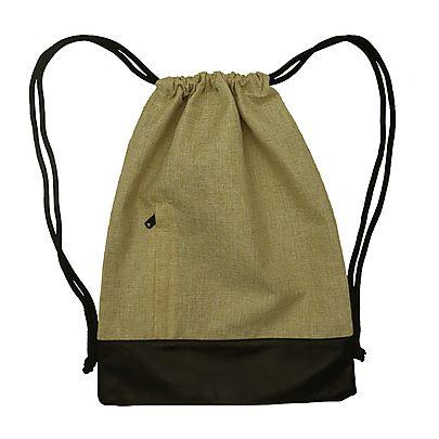 New items!, Jute Drawstring Backpack