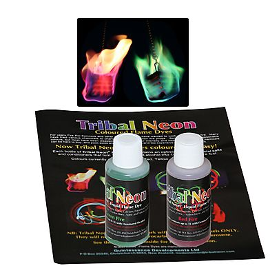 Colored Flame, Pack of Coloured Flame Additive