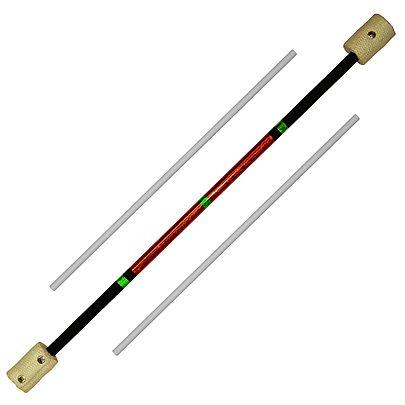 Standard Fire Devil Sticks with Handsticks