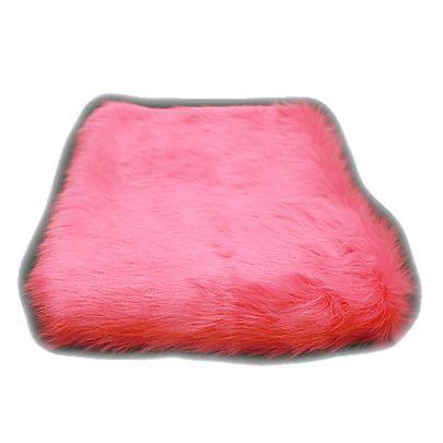 Silk Suede Fabric, Length of Fluffy Fabric - Faux Fur