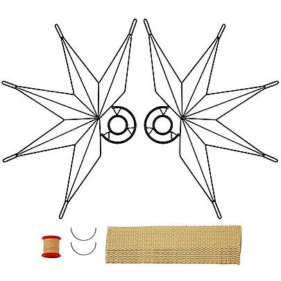 Your, Pair of Nautical Fire Fans with 2inch Wick Kit - Make Your Own