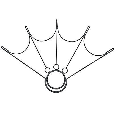 Parts, SINGLE HoP Spider Fire Fan Frame