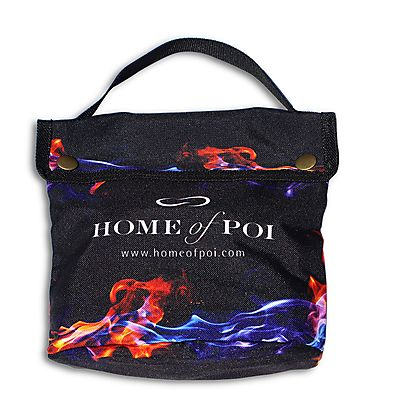 Bags/Covers, Fire Poi Protective Carry Bag - Canvas