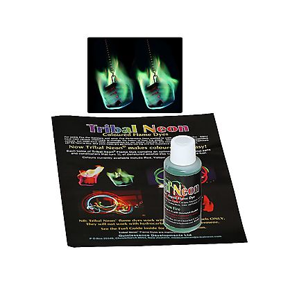 Colored Flame, Green Coloured Flame Additive