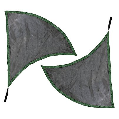 Poi Flags, Pair of Dragon Wing Poi Flags with V2 Handles