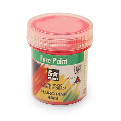 Face Paints, Face Paint Fluorescent 60ml