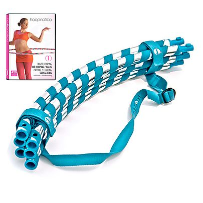 Weighted Exercise Hula Hoop, Exercise Hula Hoop with Beginner DVD 1