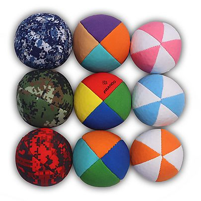 Juggling, Best Juggling Balls set of 9 with carry bag