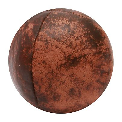 All Juggling Balls, Leather 63mm 4 Panel Copper Juggling Ball