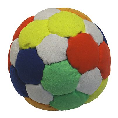 Silk Suede Fabric, Suede Multi Panel (67mm) 2.64inch Juggling Ball