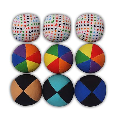 All Juggling Balls, Best Juggling Balls set of 9 with carry bag