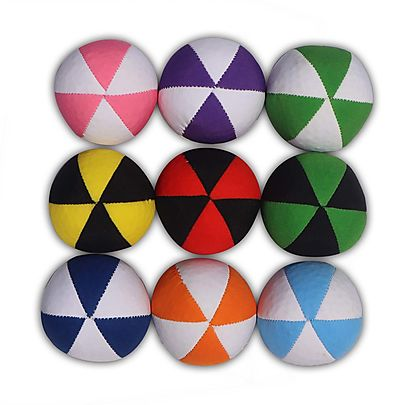 Clubs, Juggling, Best Juggling Balls set of 9 with carry bag