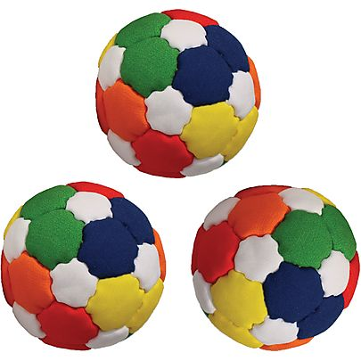 All Juggling Balls, Set of 3 Multi Panel 67mm 2.64inch Juggling Ball