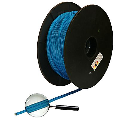 Length of 15/64 Inch (6mm) Polyester Rope
