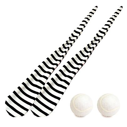 Pair of Striped Sock Poi