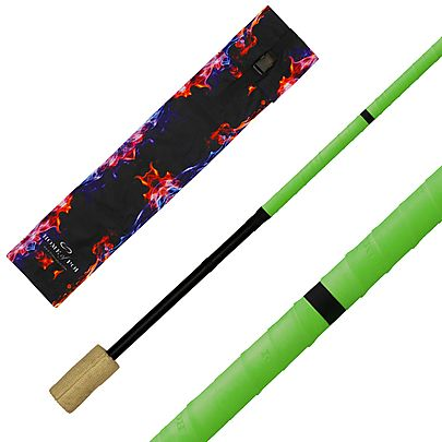Fire Staff, Aero Fire Staff with 4inch wicks