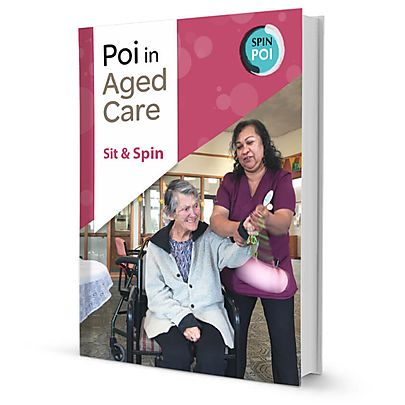 Fire Flail Tube Head, Poi in Aged Care: Sit and Spin