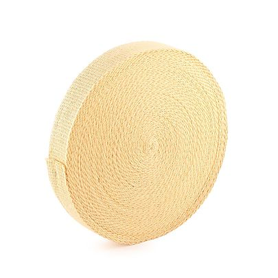length of 1 2 inch hollow sleeve, 30m (100 ft) roll of 50mm x 3.2mm (2 x 1/8 inch) Kevlar ® Wick
