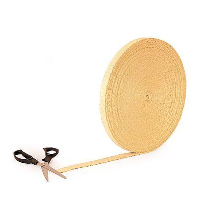 Wick Flat, Length of 19mm x 3.2mm (3/4 x 1/8 inch) Kevlar ® Wick