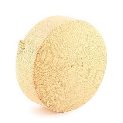 100 ft 30m roll 1 4 inch 64mm 12 Strand Braided Technora Rope, 30m (100 ft) roll of 100mm x 3.2mm (4 x 1/8 inch) Kevlar ® Wick