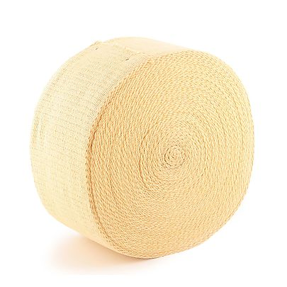 Length of 2 x 1 8 inch 50mm x 32mm Kevlar Wick, 100ft (30m) roll of 6 x 1/8 inch (152mm x 3.2mm) Kevlar ® Wick