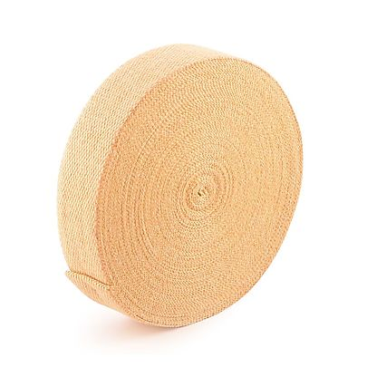 length of 1 2 inch hollow sleeve, 30m (100ft) roll of 50mm x 1.6mm (2 x 1/16 inch) THIN Kevlar ® Wick