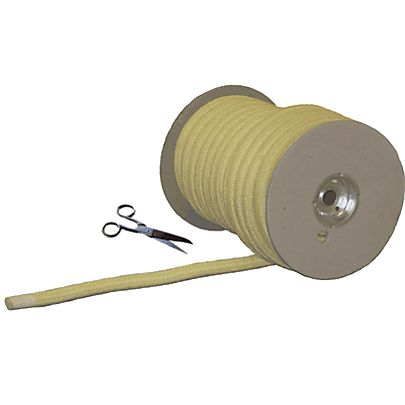 Wick Rope, 6m (20ft) length of 25mm (1 Inch) braided kevlar® rope